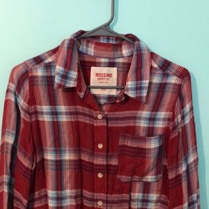 Red flannel Style shirt